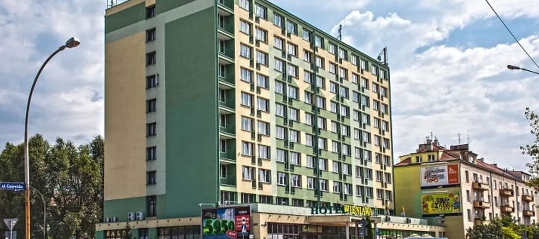 Hotel Wieniawa przy ulicy