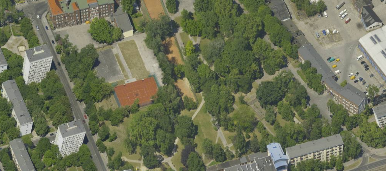 Wrocław: Park przy Kolejowej