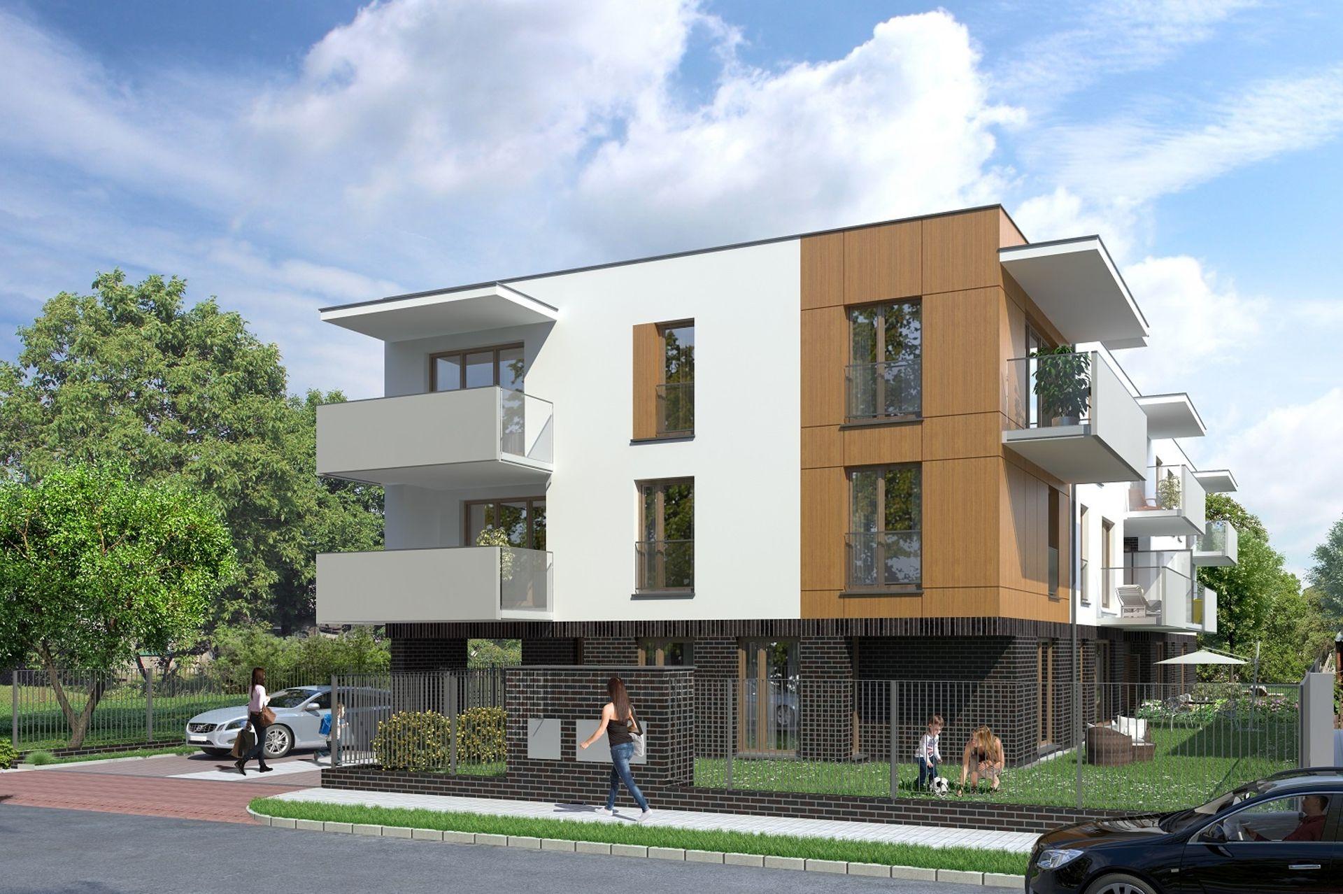 Warszawa: Naukowa 16 – Structur Concept stawia budynek mieszkalny w Starych Włochach [WIZUALIZACJA]