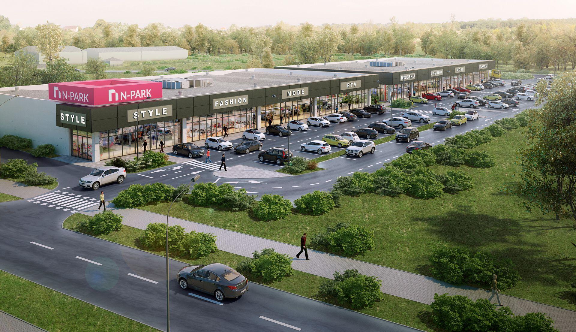 Dolny Śląsk: Powstanie kolejny park handlowy N-Park. Tym razem w Jelczu-Laskowicach