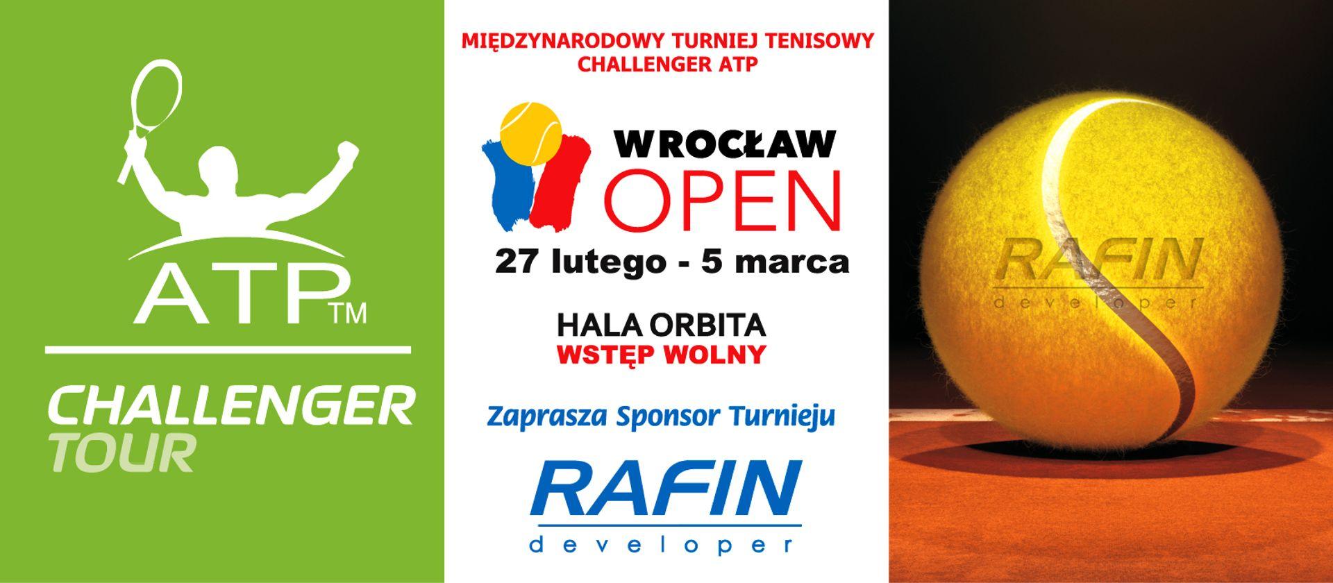 [Wrocław] Wrocław Open 2017 już się rozpoczął! Rafin sponsoruje wielkie tenisowe rozgrywki!
