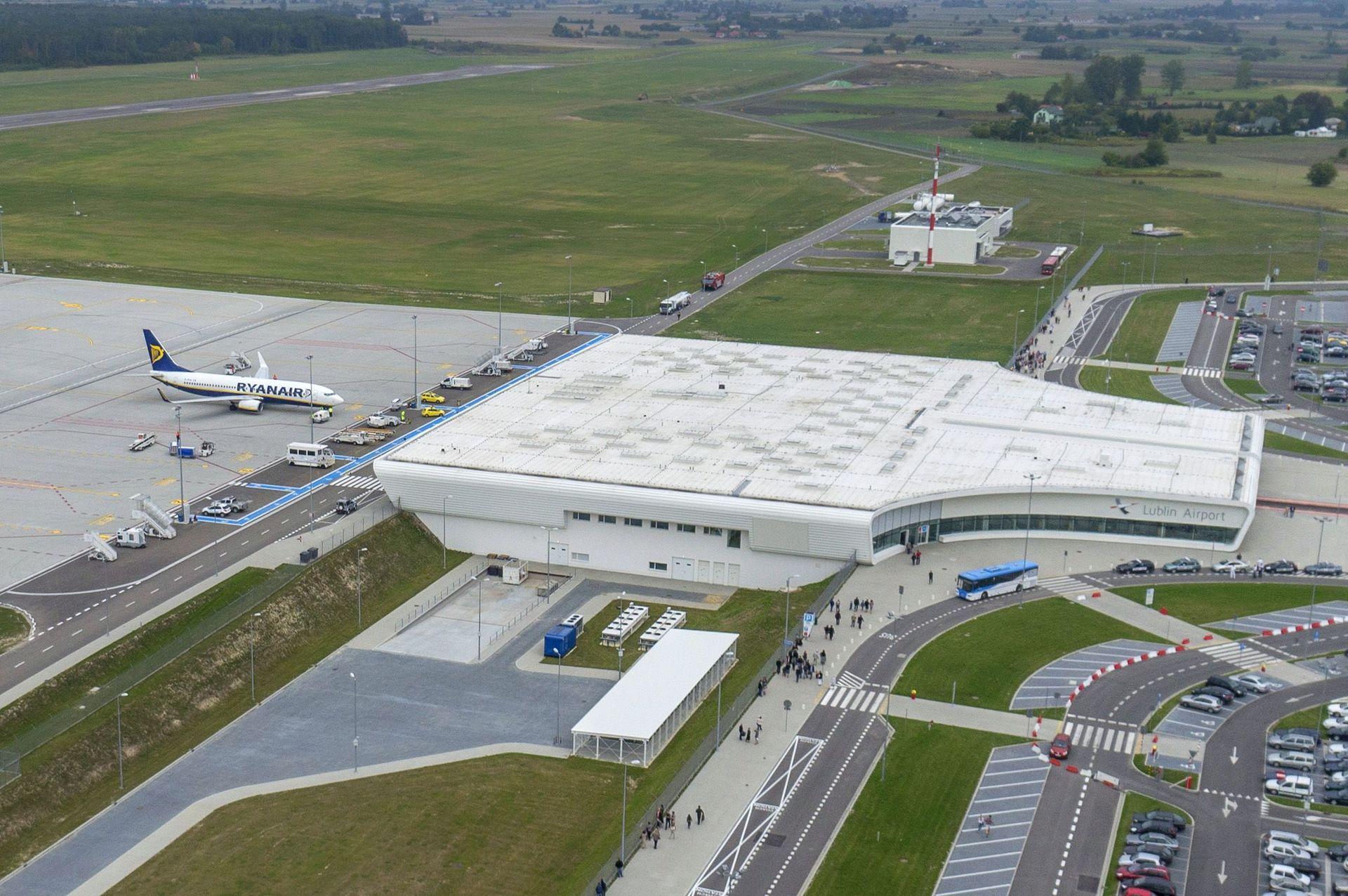 Cargo na lubelskim lotnisku przyciąga biznes