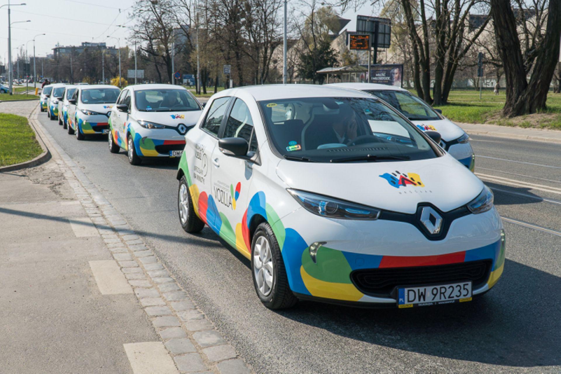 [Wrocław] Vozilla z 40 nowymi, elektrycznymi Renault ZOE