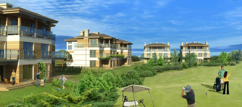Apartamenty przy polu golfowym