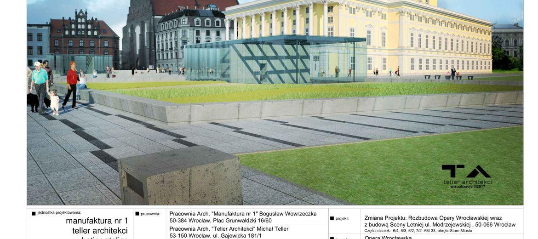 Wrocław: Opera się rozbudowuje.