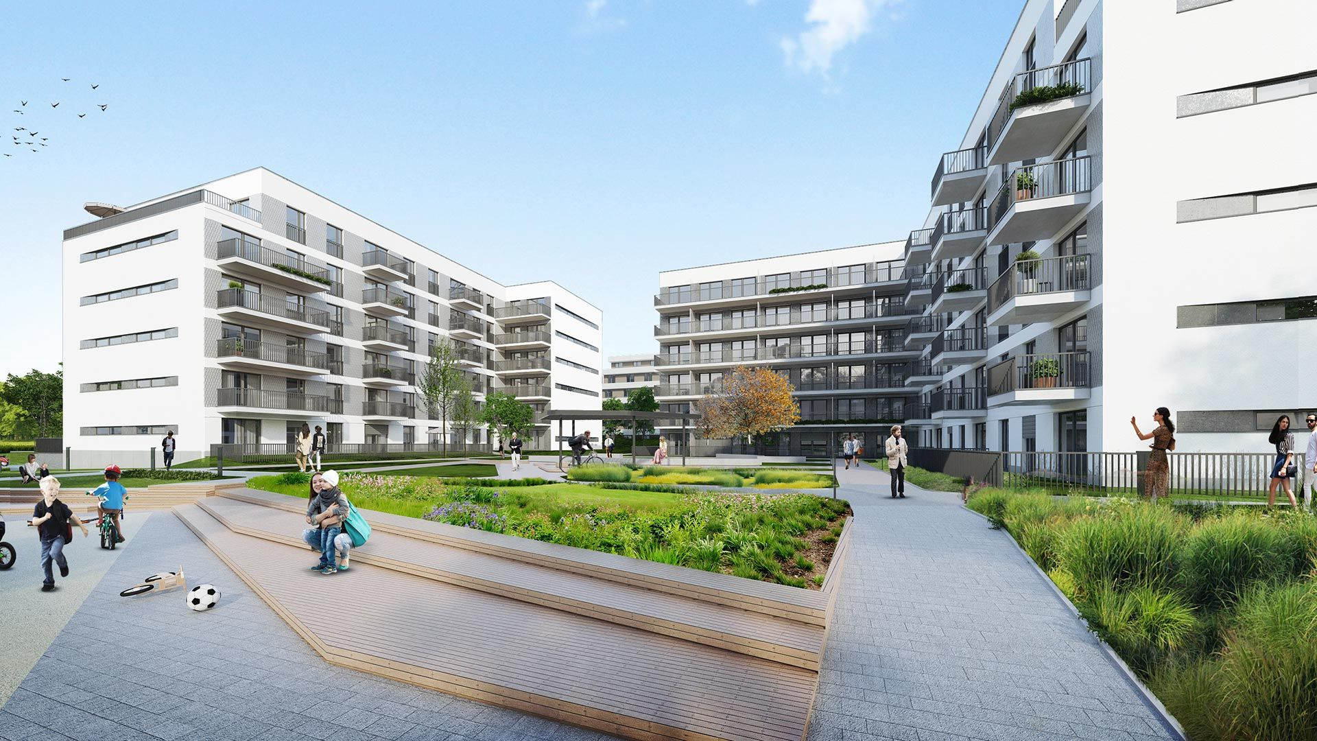 Kraków: SenTOTU – wkrótce ruszy budowa nowego osiedla na Górce Narodowej