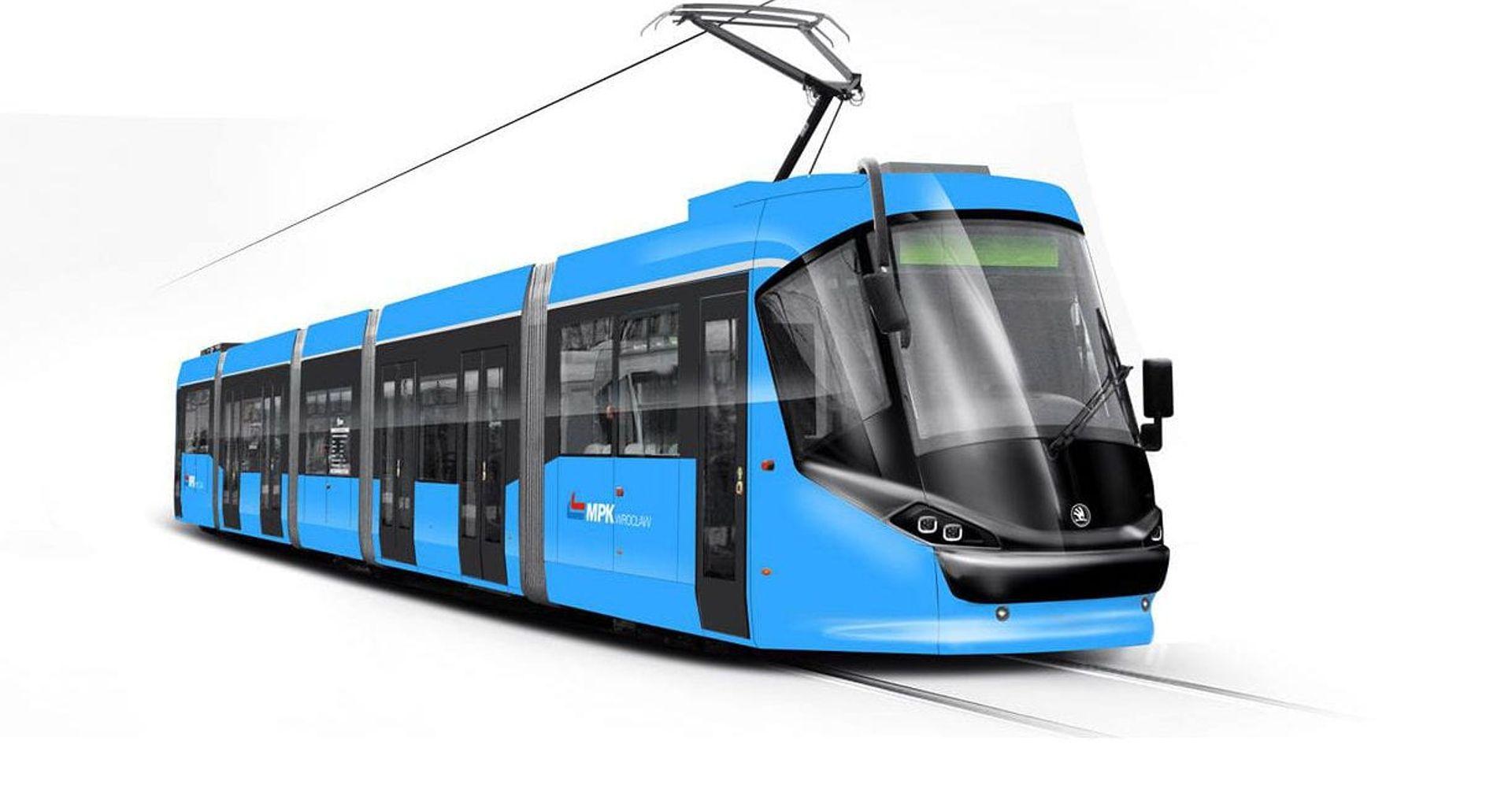 Trwa generalny remont pierwszego z siedemnastu tramwajów Skoda 16T [ZDJĘCIA + WIZUALIZACJE]