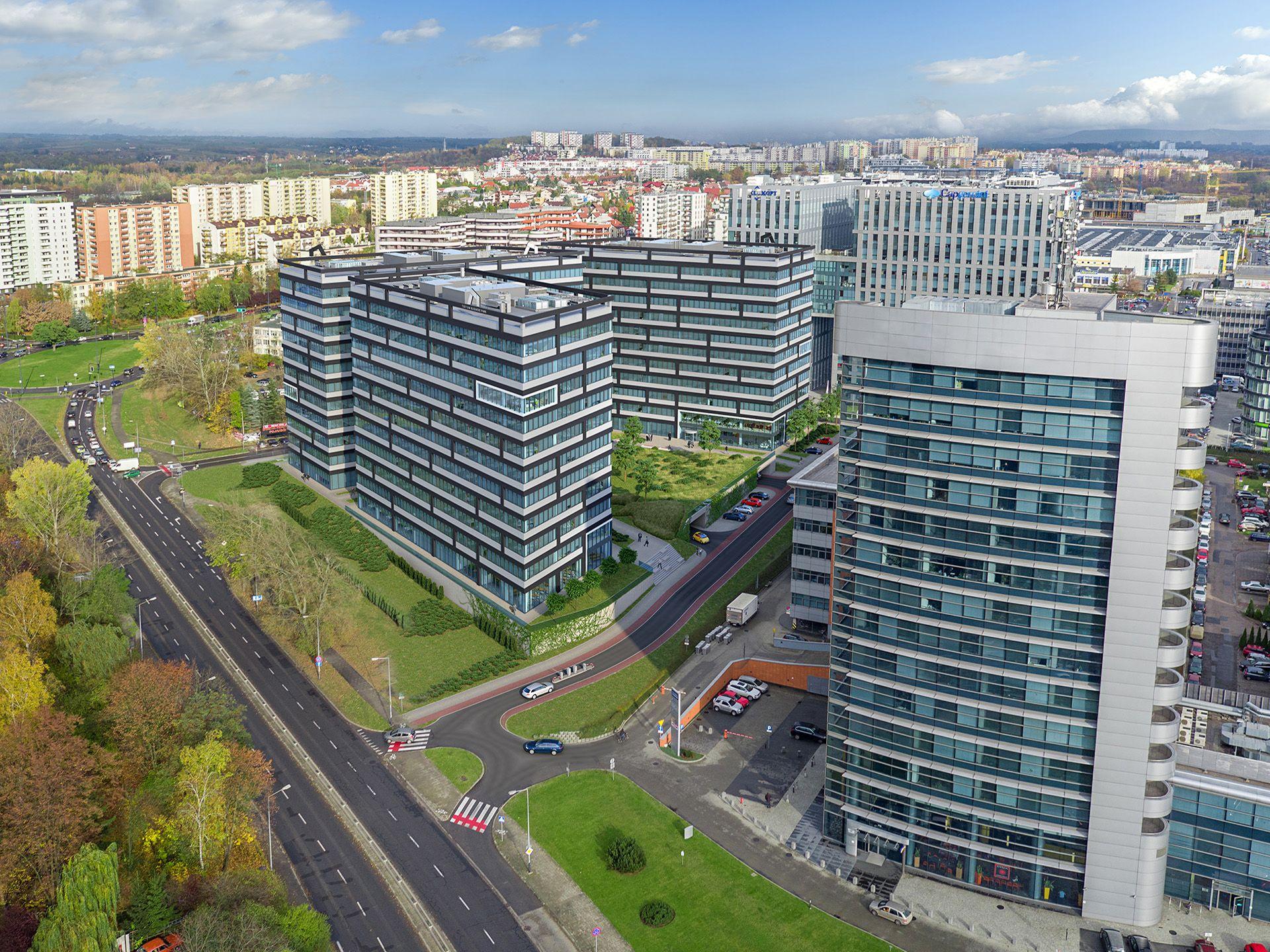 Kraków pozostaje liderem regionalnych rynków biurowych w Polsce