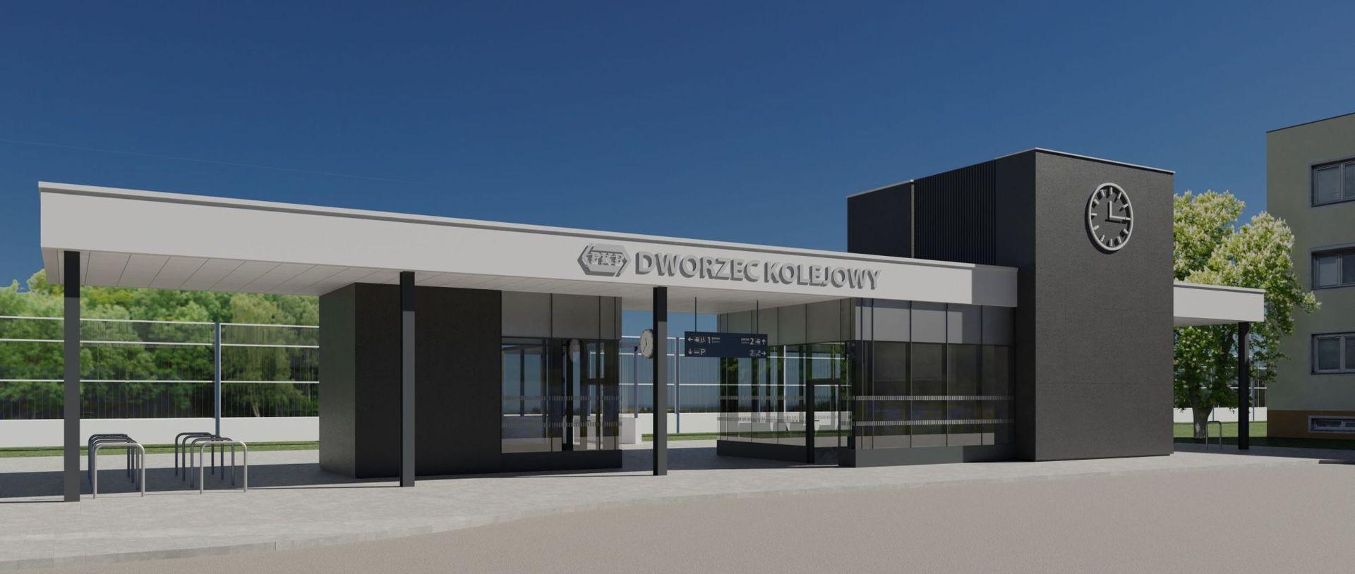 Innowacyjny Dworzec Systemowy powstaje w Czarnej Tarnowskiej