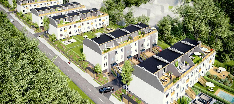 Wizualizacja osiedla Apartamenty Maślice (źródło: materiały inwestora)