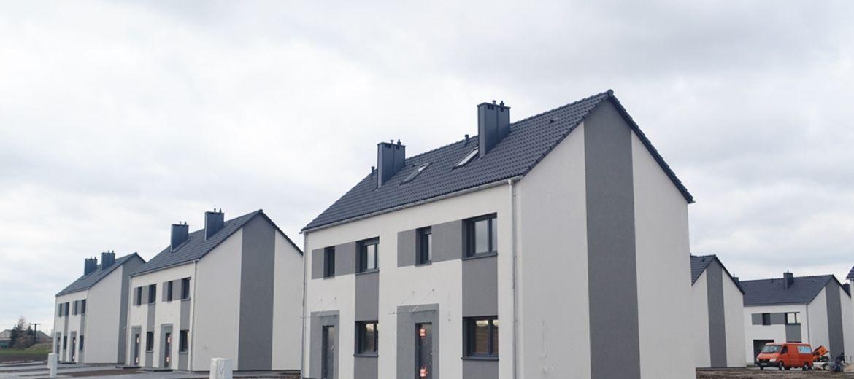 Pierwsze domy w Zielonych