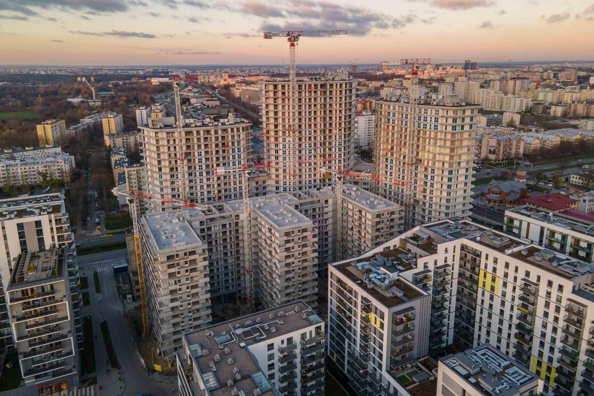 W Warszawie powstaje kompleks Bliska Wola Tower [FILM + ZDJĘCIA]
