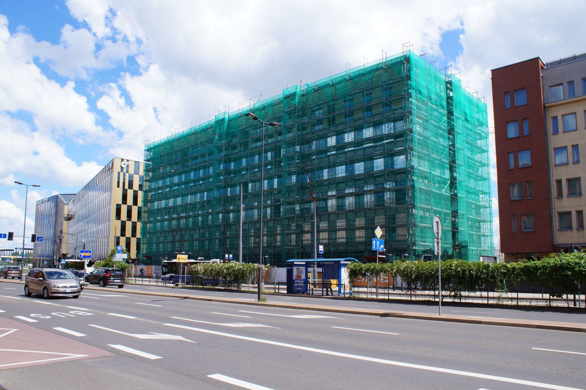 Kraków: Trwa budowa kolejnego biurowca w kompleksie High5ive