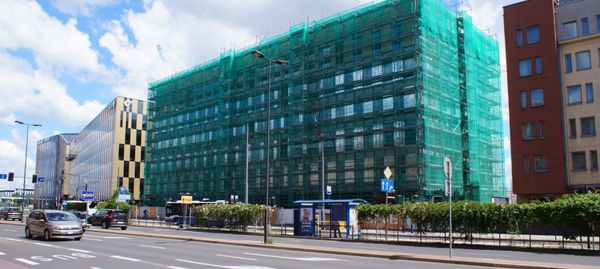 Kraków: Trwa budowa kolejnego biurowca w kompleksie High5ive [ZDJĘCIA]