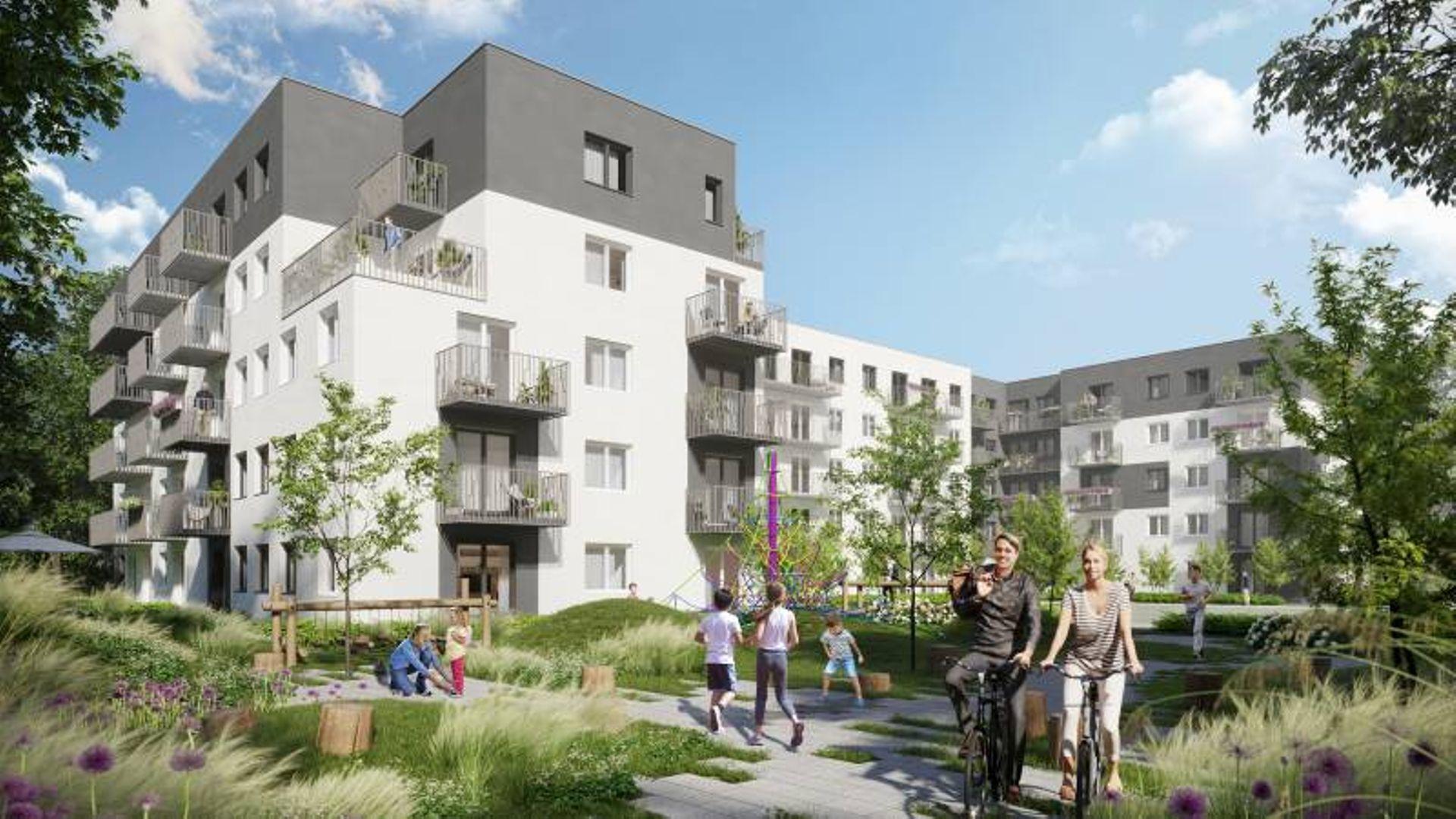 Wrocław: Stacja 3.0 – Echo Investment ruszyło z budową ponad 200 mieszkań na Muchoborze Wielkim