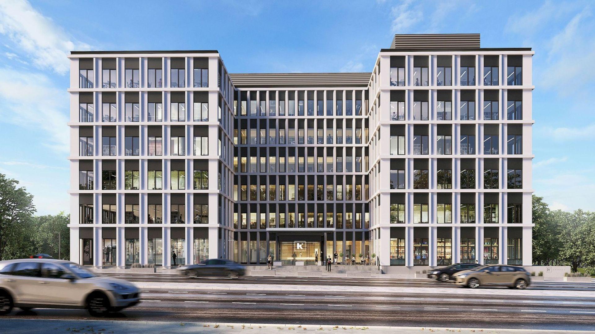 [Gdynia] Budowa biurowca K2 w Gdyni na starcie