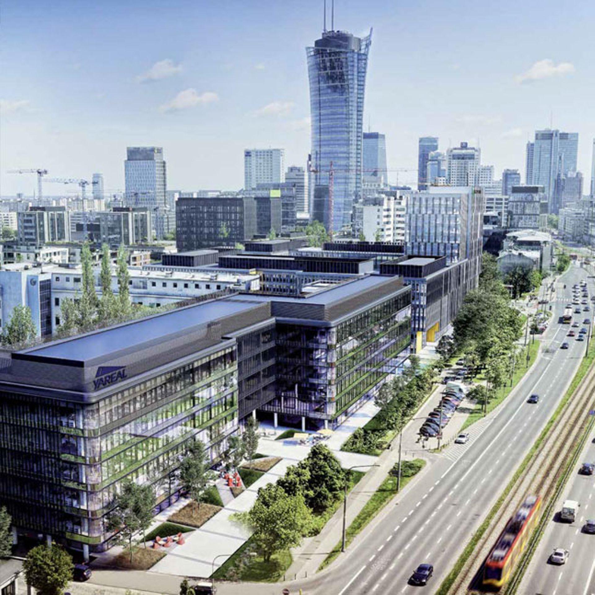 [Warszawa] Yareal sprzedaje dwa budynki biurowe w kompleksie LIXA w Warszawie