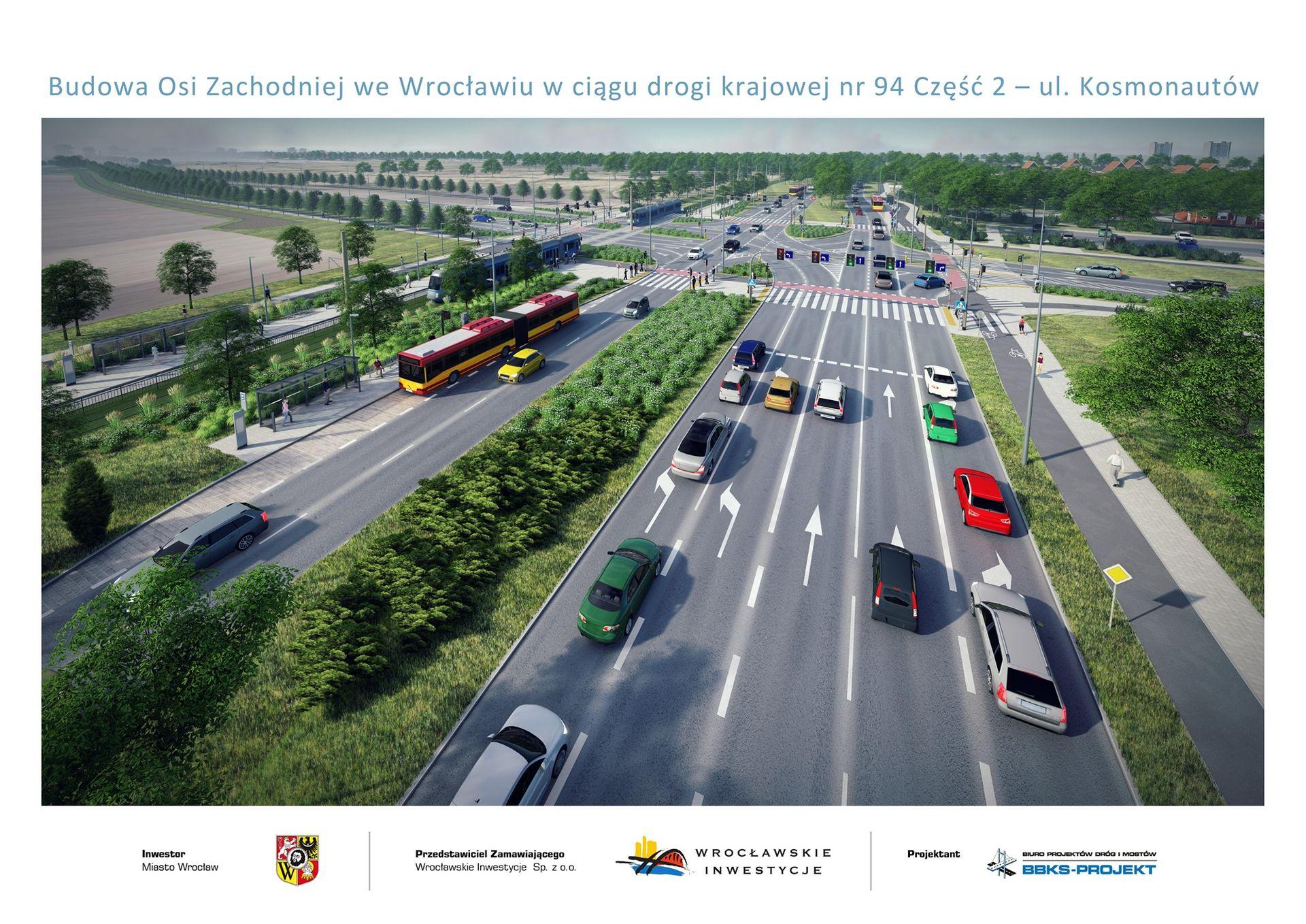 Wrocław: Ruszy budowa Alei Stabłowickiej. Znamy wykonawcę wielomilionowej inwestycji