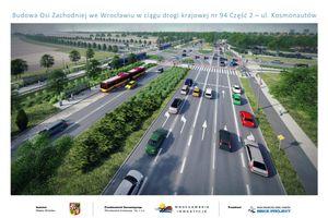 Wrocław: Ruszy budowa Alei Stabłowickiej. Znamy wykonawcę wielomilionowej inwestycji [WIZUALIZACJE]