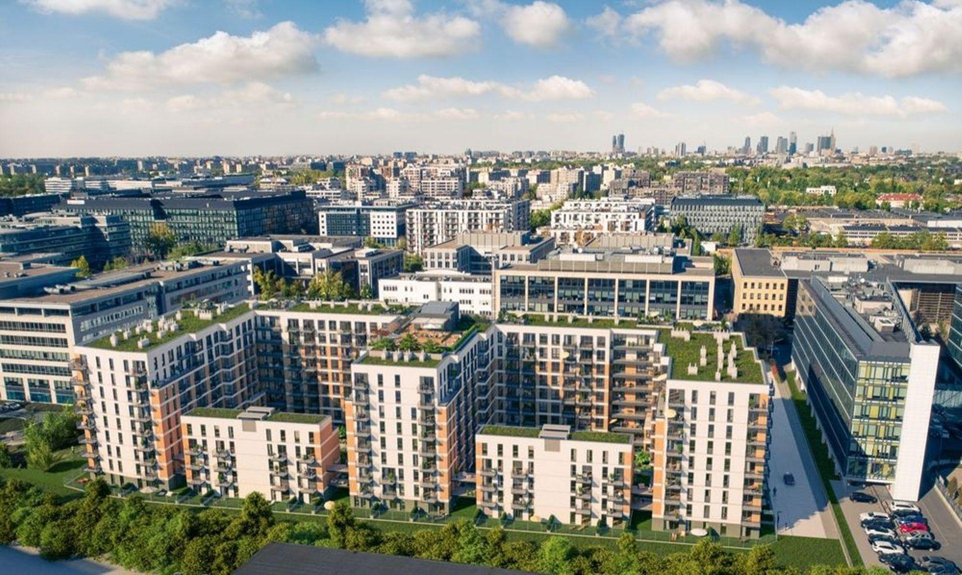 Jeszcze w tym roku ruszy budowa osiedla Central House na warszawskim Mokotowie