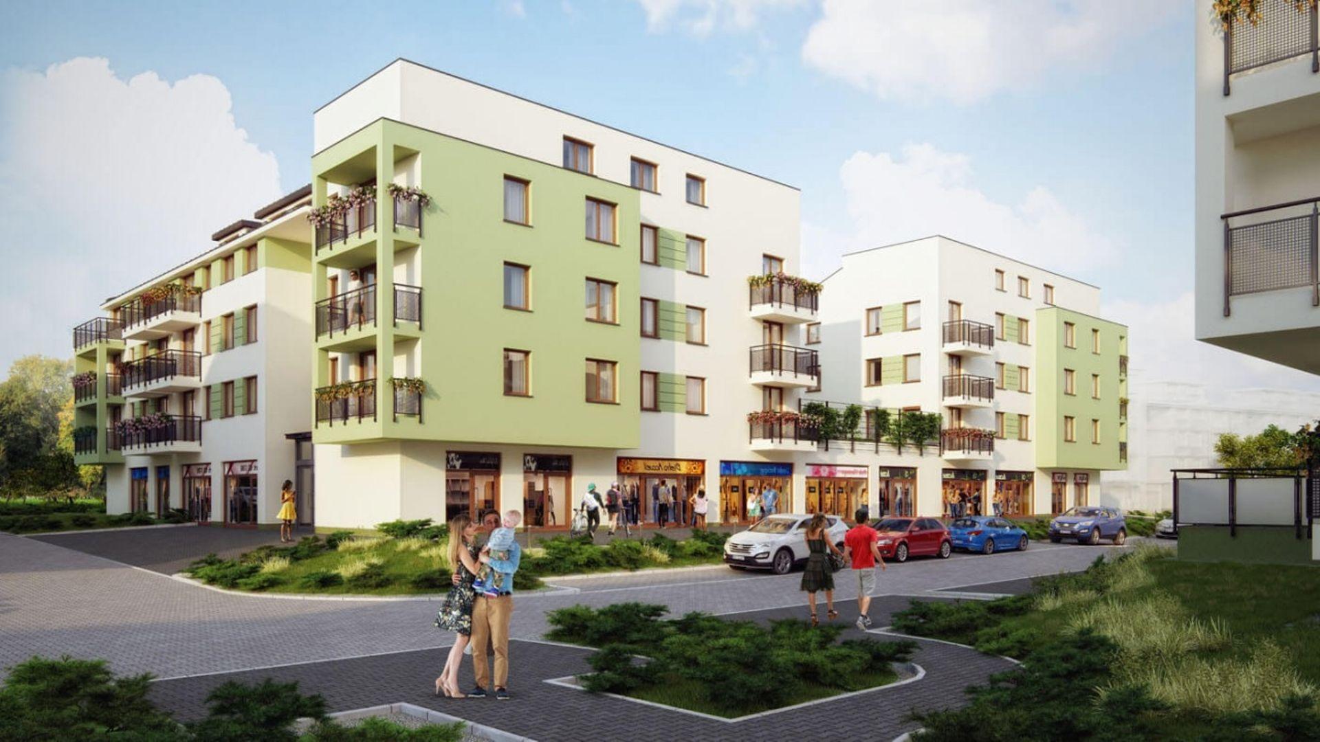Develia zakończyła budowę IX etapu osiedla Słoneczne Miasteczko w Krakowie i wprowadziła do oferty kolejne mieszkania
