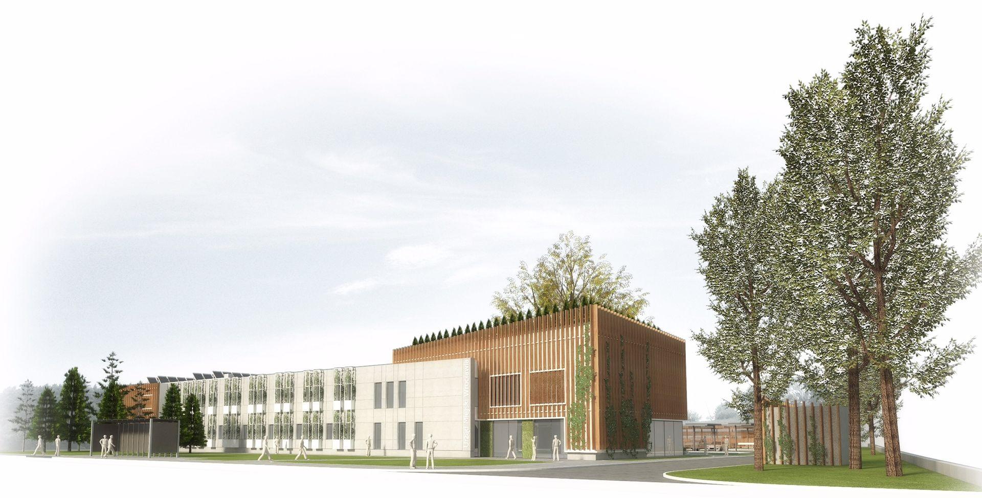 [Wrocław] Urzędnicy chcą być eko. Przy Hubskiej powstanie energooszczędny kompleks [WIZUALIZACJE]