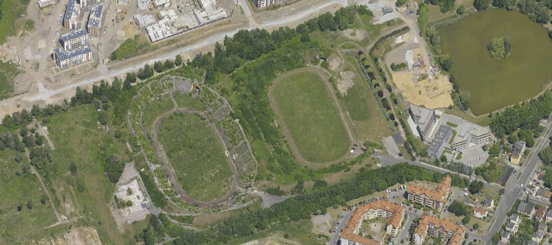 Na terenie dawnych stadionów