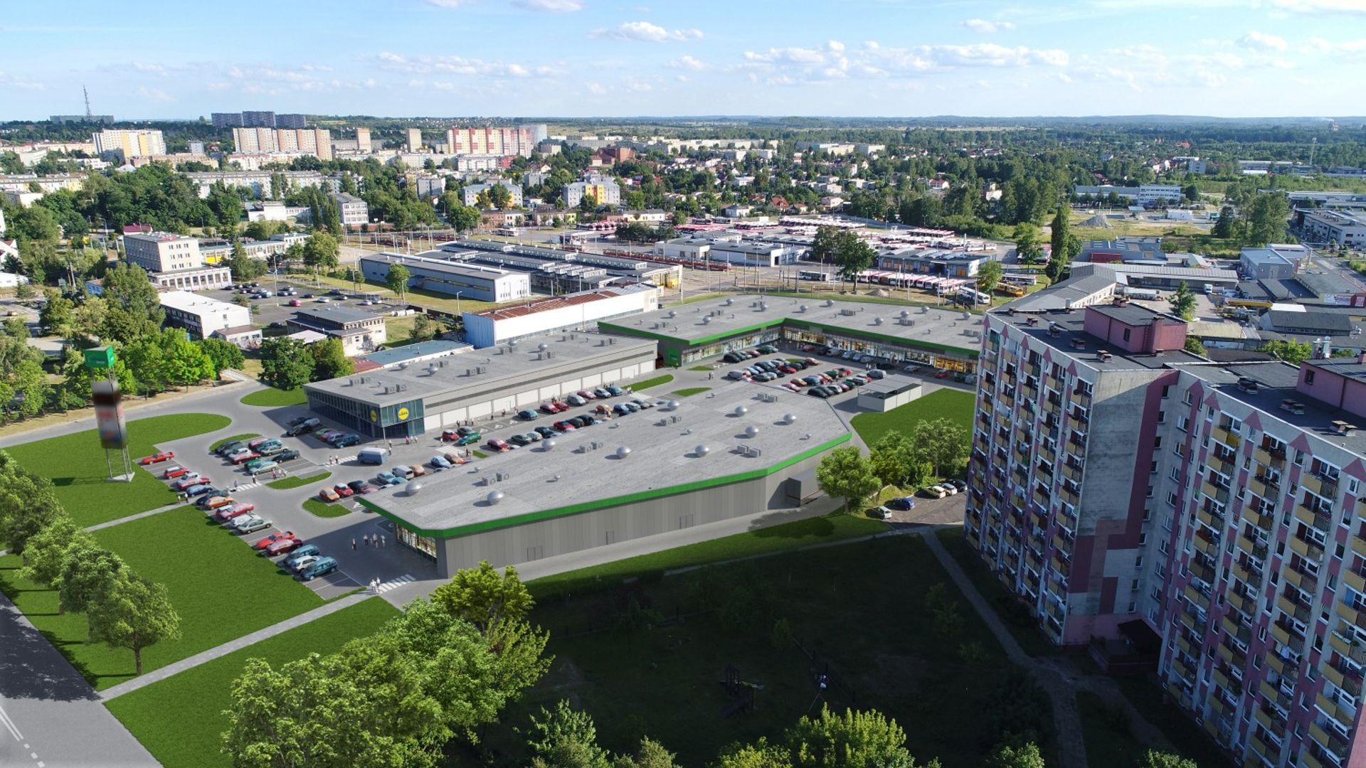 [śląskie] Budowa Vendo Parku w Częstochowie na starcie