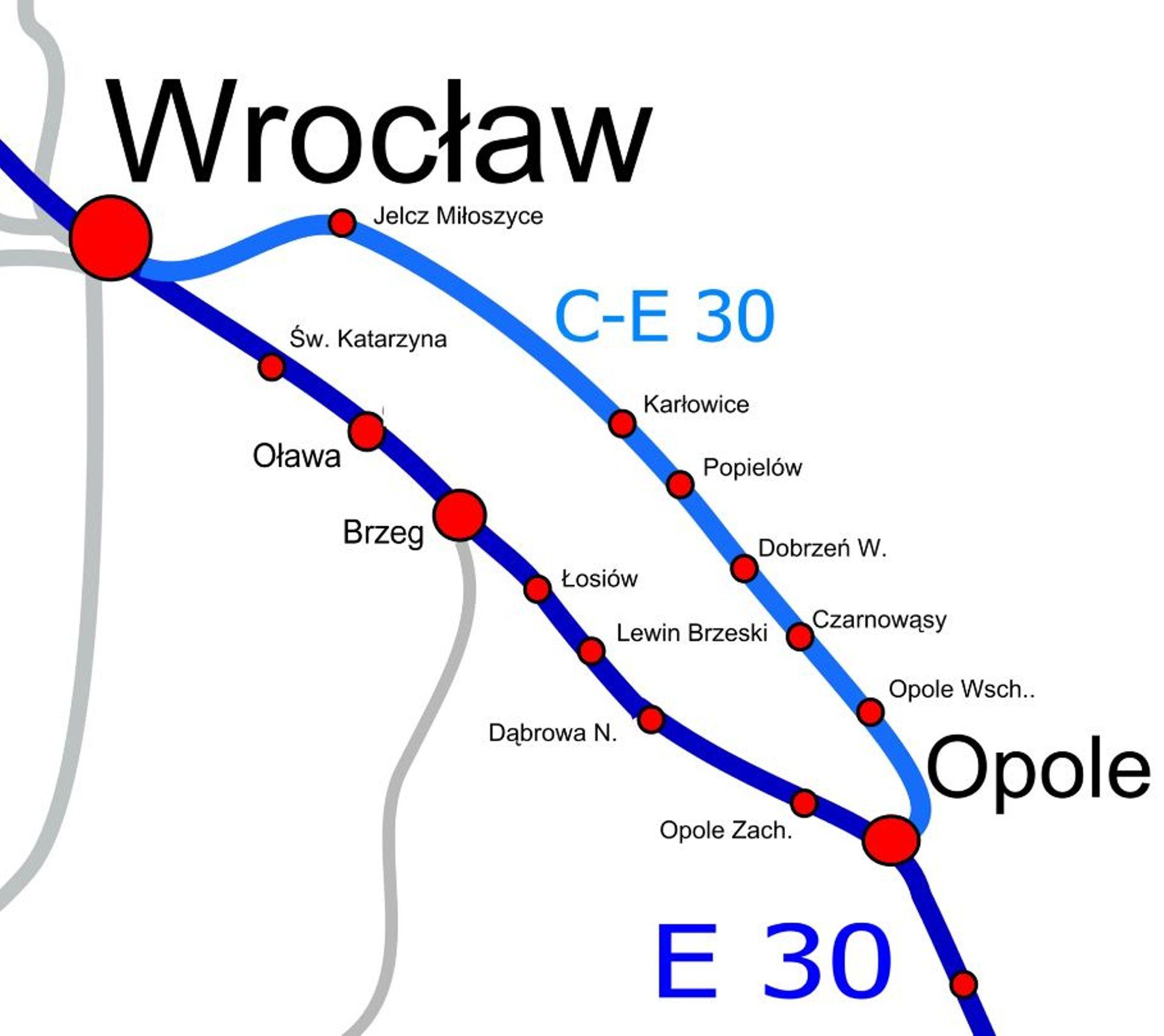 Podpisano umowę na projekt modernizacji linii kolejowej Wrocław-Siechnice-Jelcz-Opole