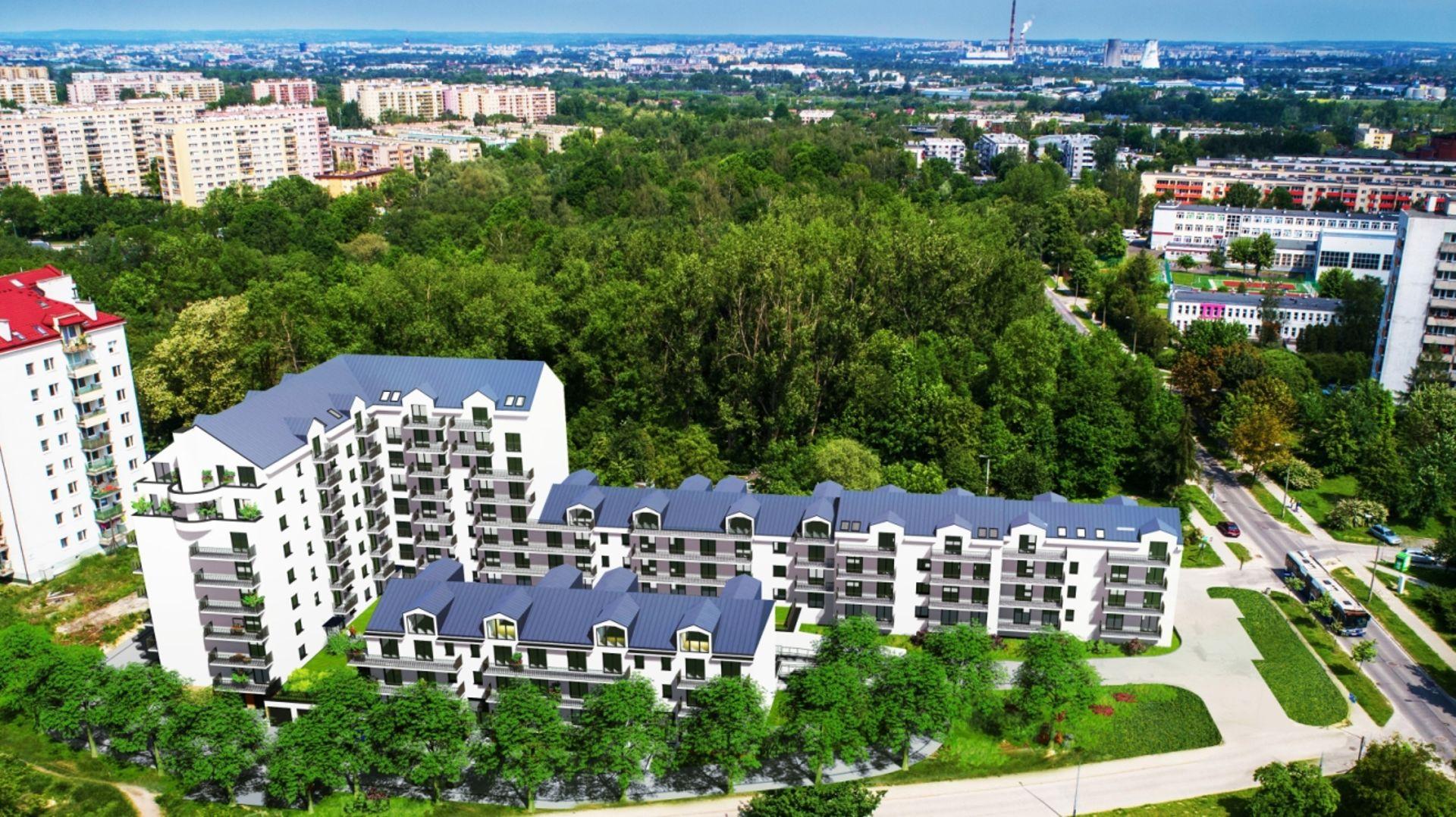 Kraków: Aleksandry Park – osiedle z ponad setką mieszkań powstaje w Bieżanowie