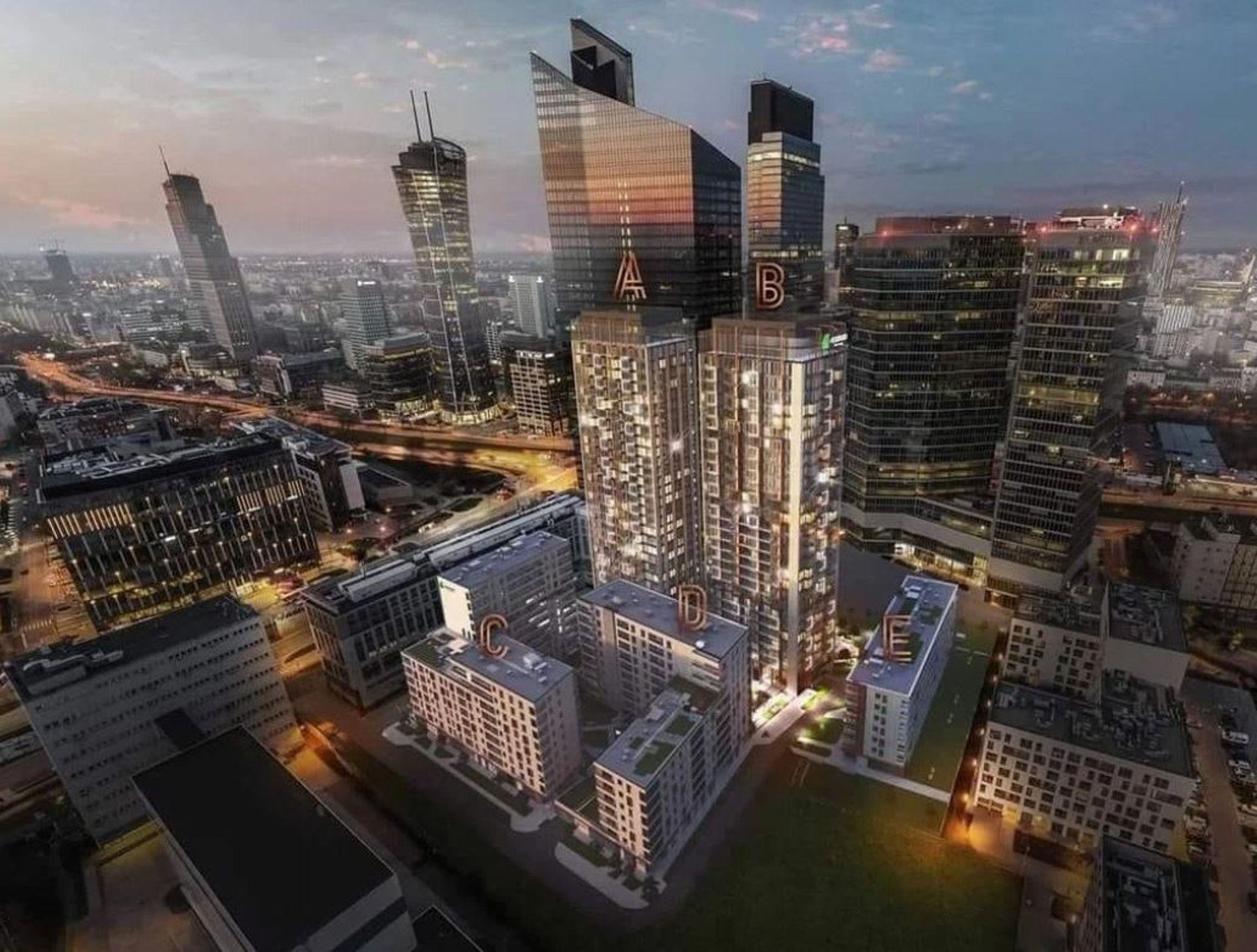 W Warszawie powstają dwa 95-metrowe budynki Towarowa Towers [FILM + WIZUALIZACJE]
