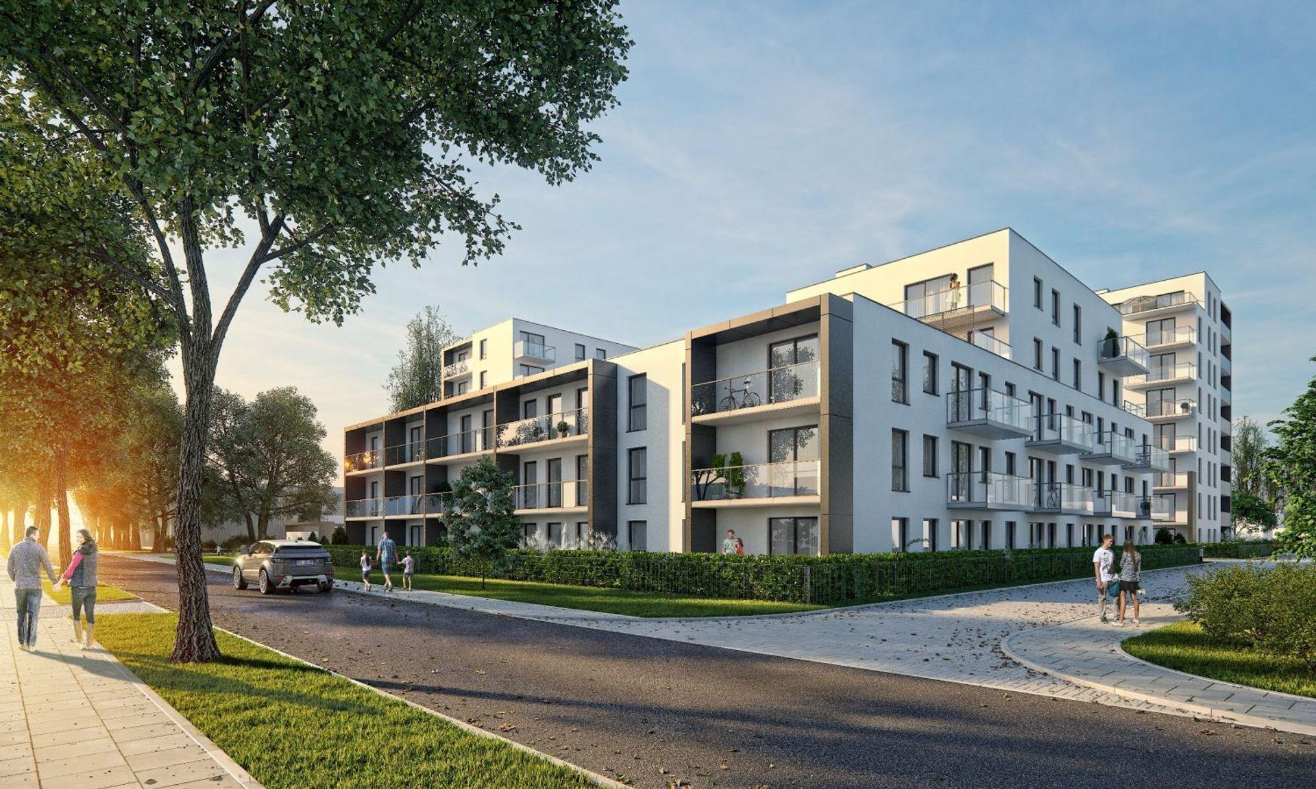 [Gdańsk] Ponad 90% mieszkań sprzedanych na osiedlu Kwartał Uniwersytecki