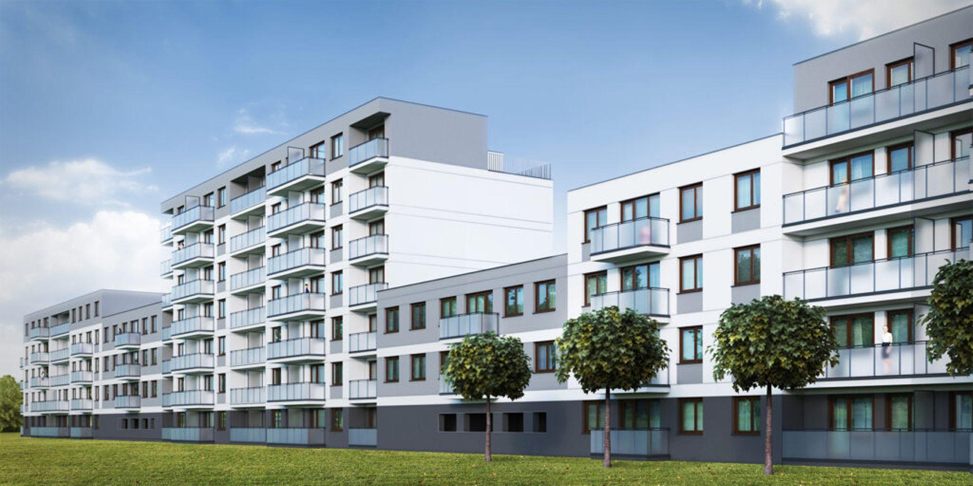 Kraków: Na Dąbiu – ponad sto nowych mieszkań od Caba Development w budowie