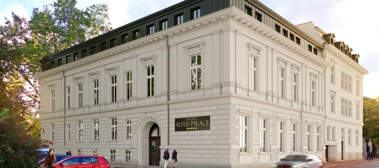 Wrocław: Zabytkowy Pałac Leipzigera