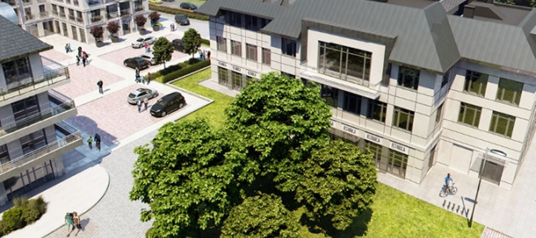 Nowy budynek biurowo-usługowy w