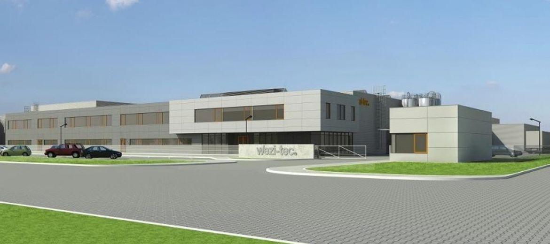Źródło: tetera.com – Projekt rozbudowy fabryki Wezi-tec w Legnicy