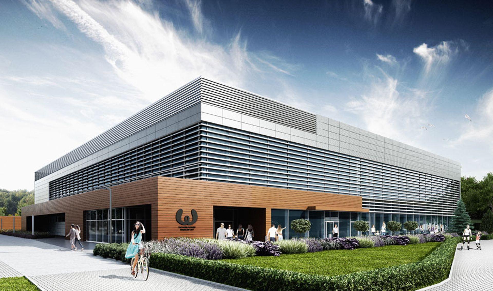 [Wrocław] Basen, stadion i tor wrotkarski. Kończą inwestycje na World Games