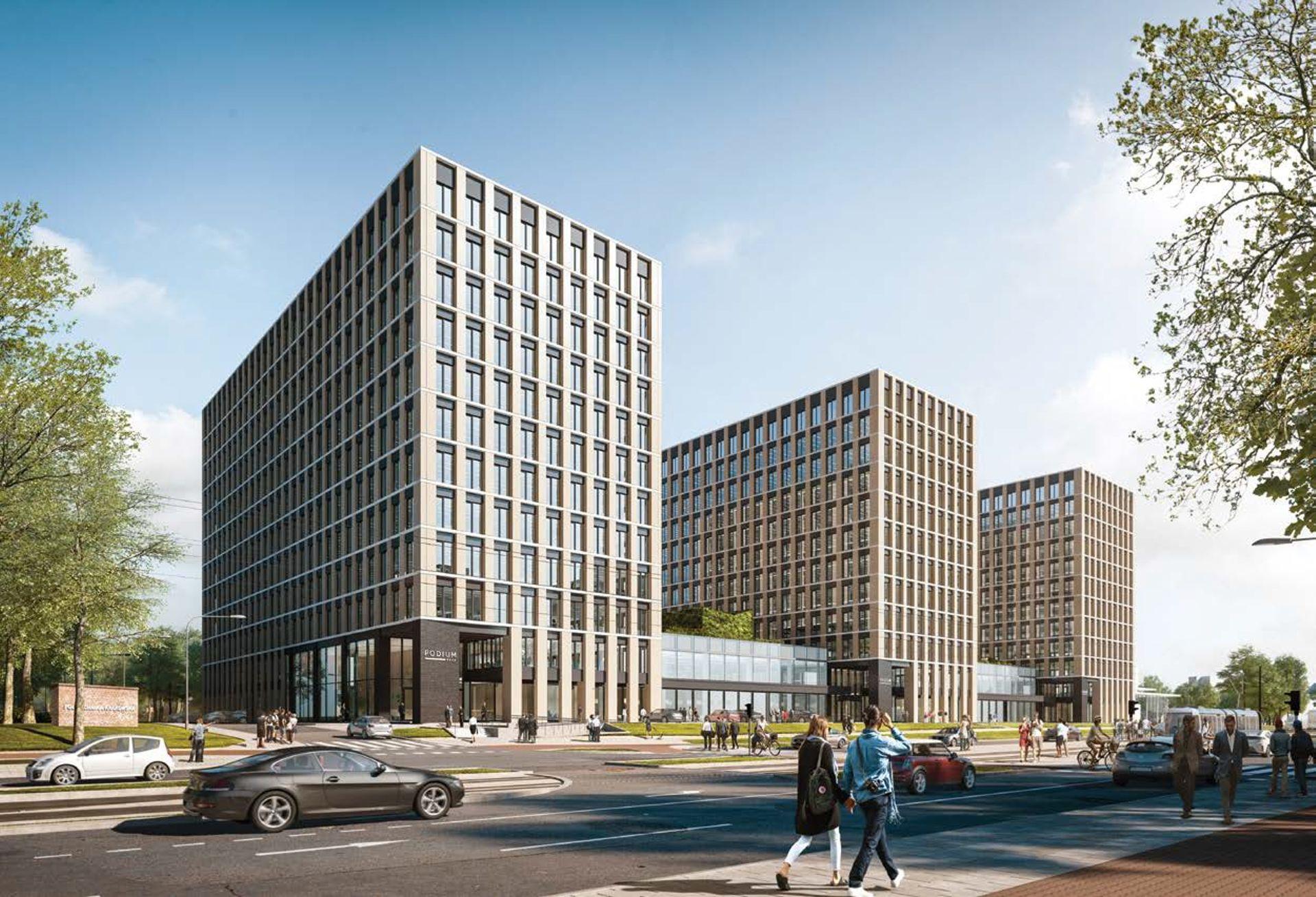 Globalworth oddał do użytku drugi z biurowców kompleksu Podium Park w Krakowie