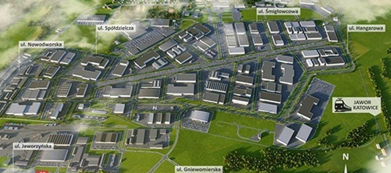 Źródło: Urząd Miejski w Legnicy – Wizualizacja koncepcji zagospodarowania terenów dawnego lotniska w Legnicy