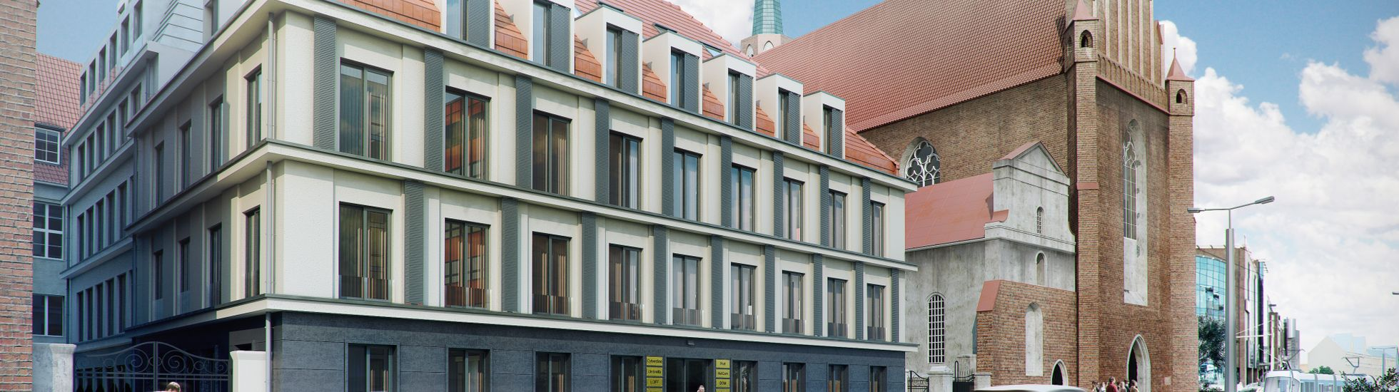 Wrocław: Centric – inwestor wyremontuje i nadbuduje dawny budynek Banku Śląskiego