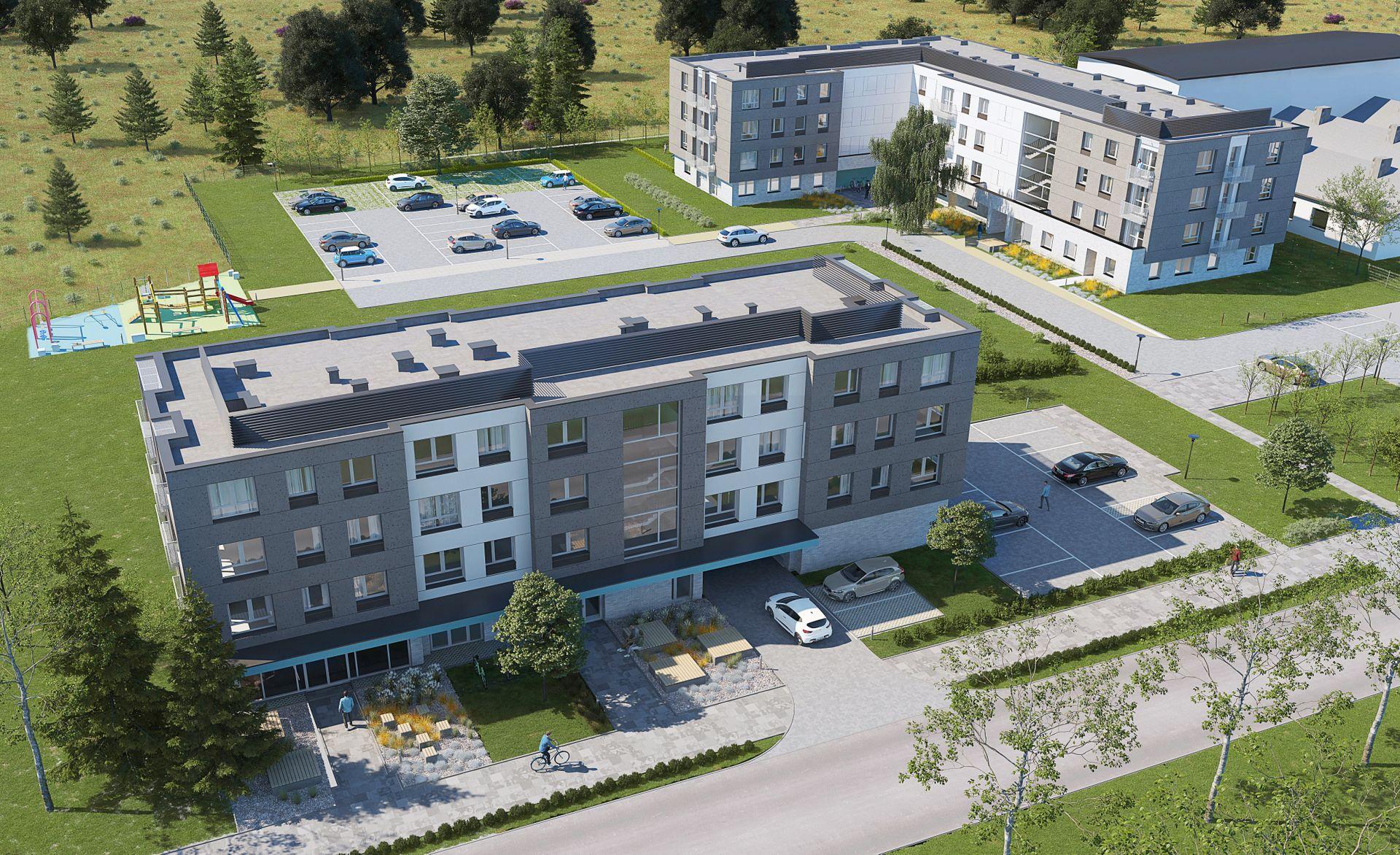 Wrocław: Meteos – dziesiątki mieszkań i stacja meteorologiczna na Sołtysowicach od Comodomo