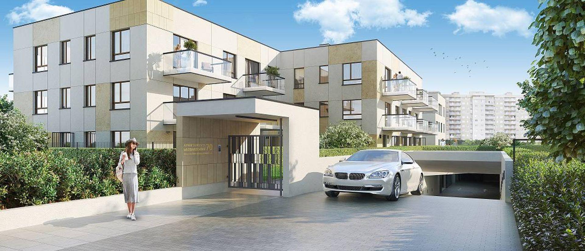 Włodarzewska 70 – Dom Development stawia na Ochocie wille miejskie w stylu dawnej Warszawy i nowoczesnej estetyki