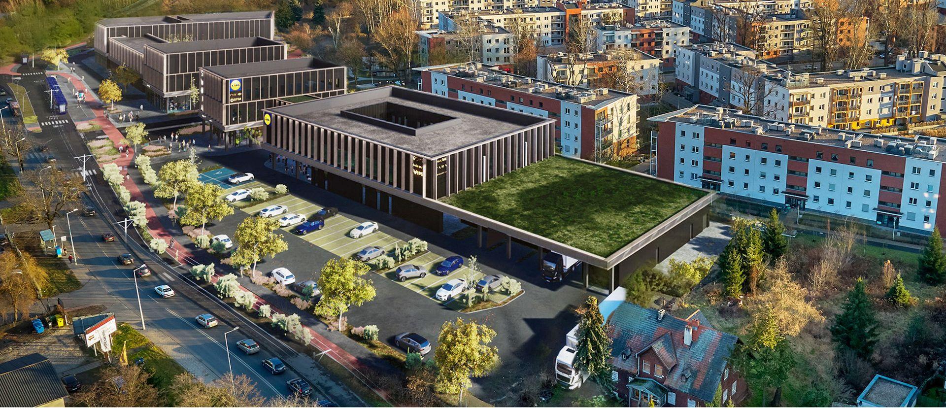Wkrótce otwarcie nowego marketu Lidl i galerii handlowej we Wrocławiu