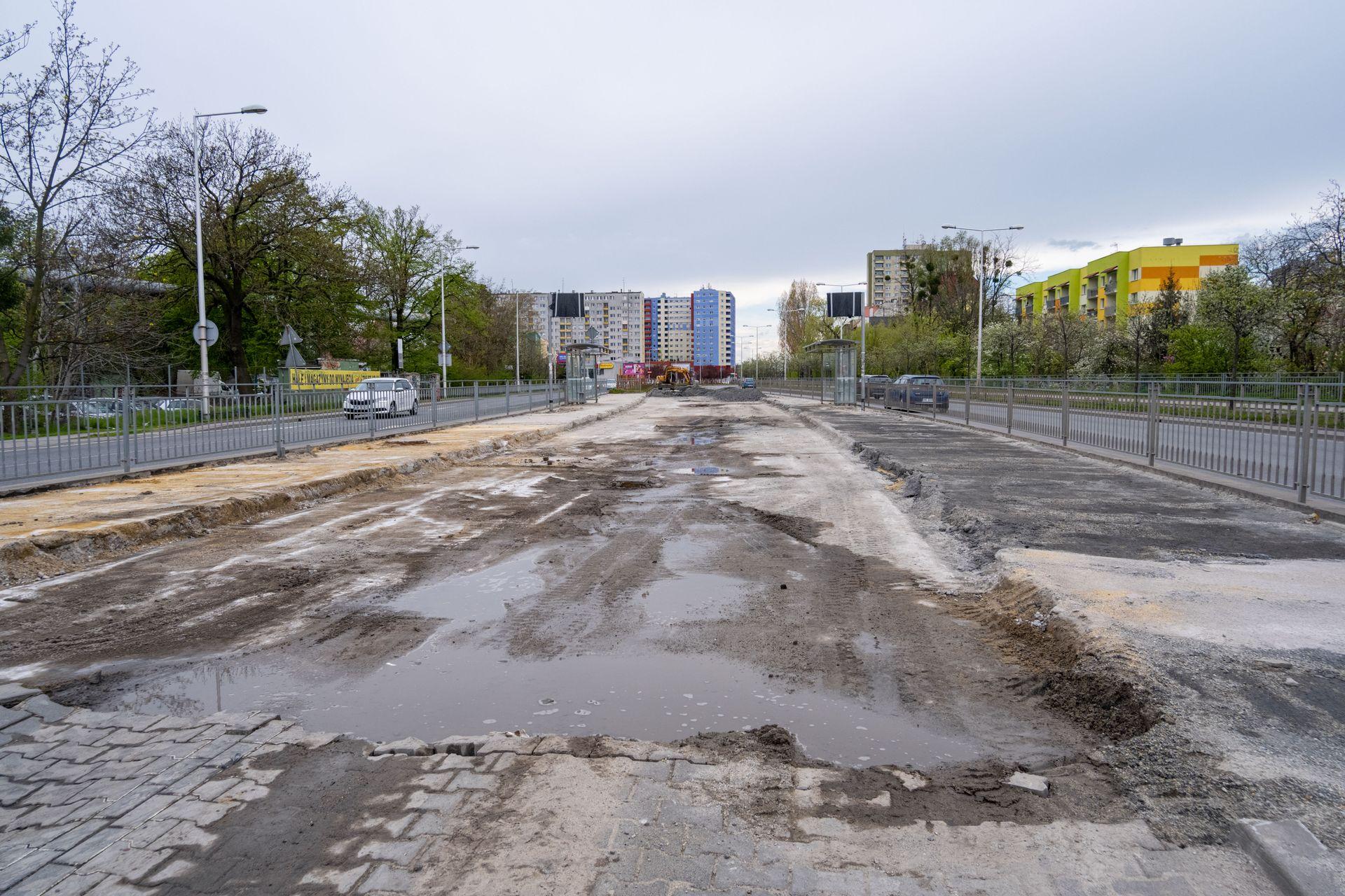 We Wrocławiu powstaje nowa Trasa Autobusowo-Tramwajowa na Nowy Dwór