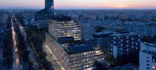 Wrocław: Trwa budowa 14-kondygnacyjnego biurowca MidPoint 71 [ZDJĘCIA]