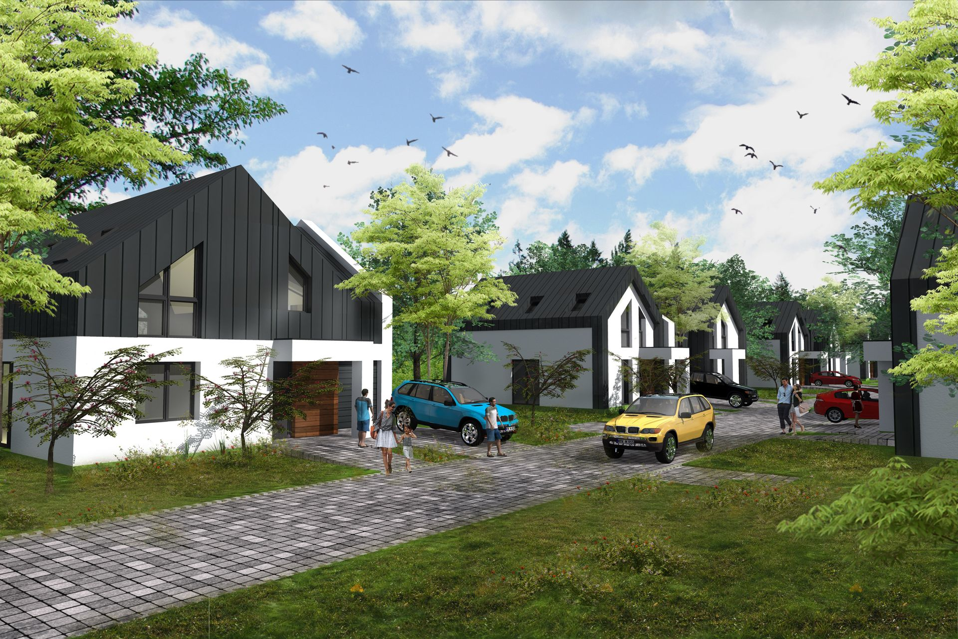 Warszawa: Rozmarynu – HDK Invest stawia energooszczędne domy w Wawrze