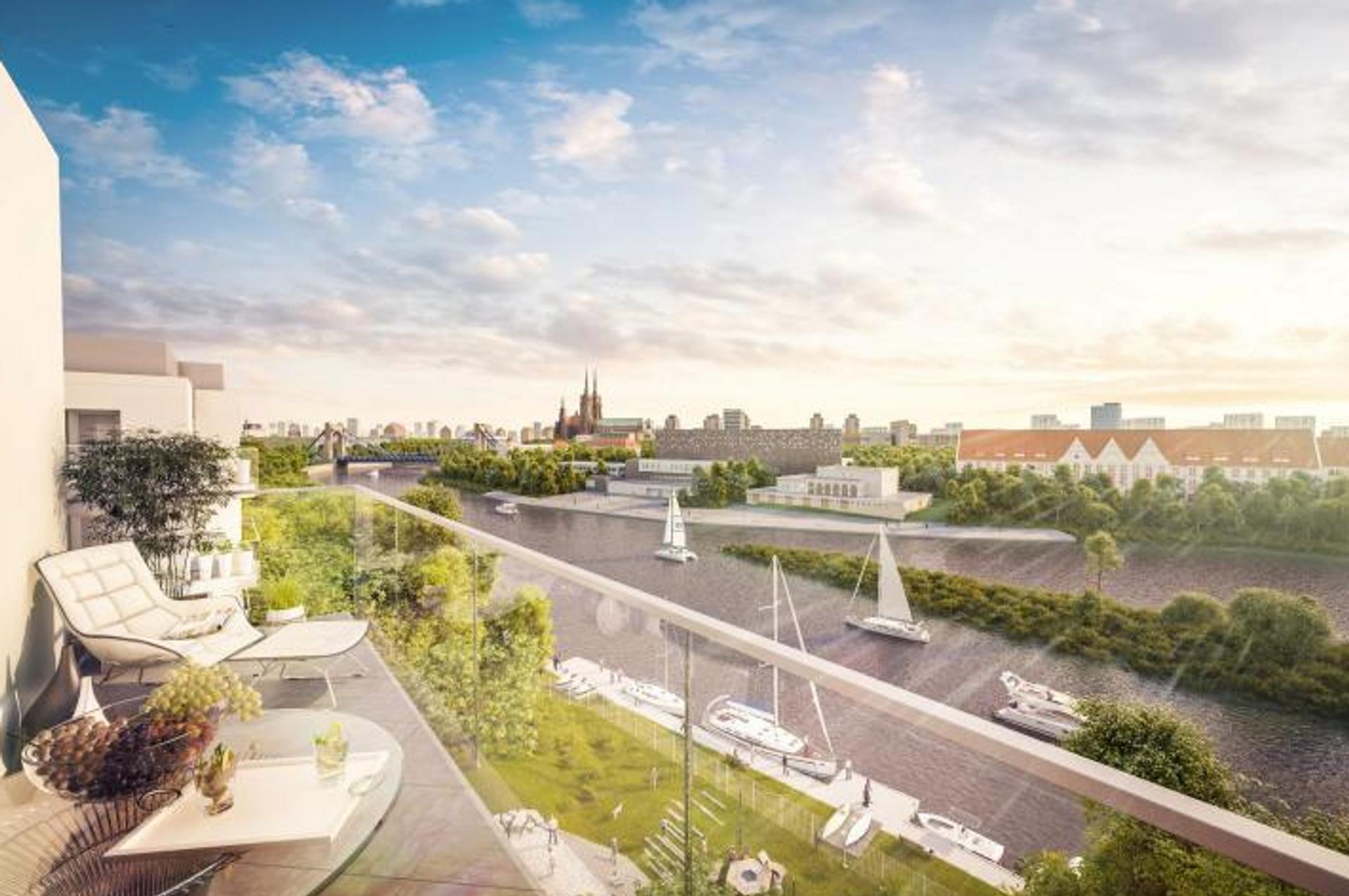 [Wrocław] Ronson startuje z Mariną Miasto. Tuż nad Odrą powstanie ponad 150 mieszkań