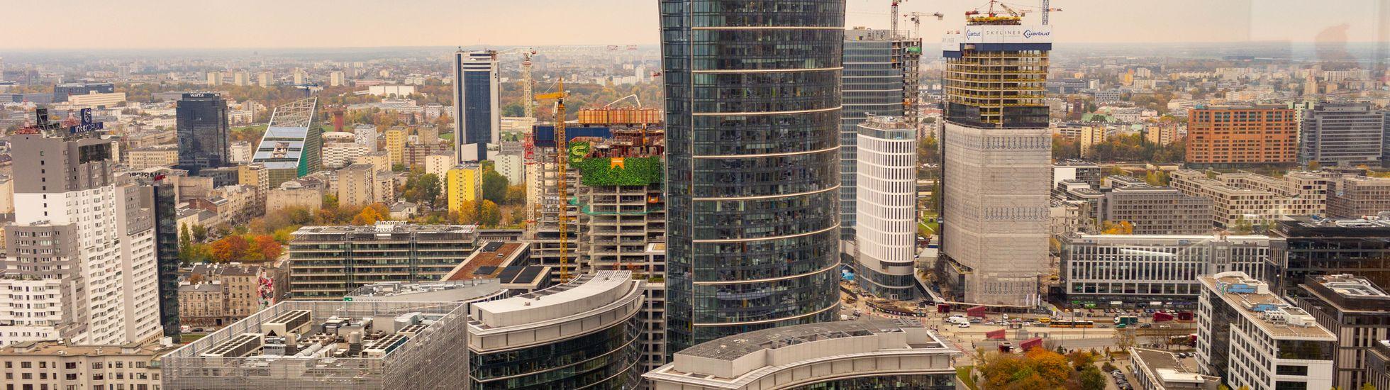 Warszawa: Bellona Tower. Tuż obok Warsaw Spire stanie kolejny wieżowiec