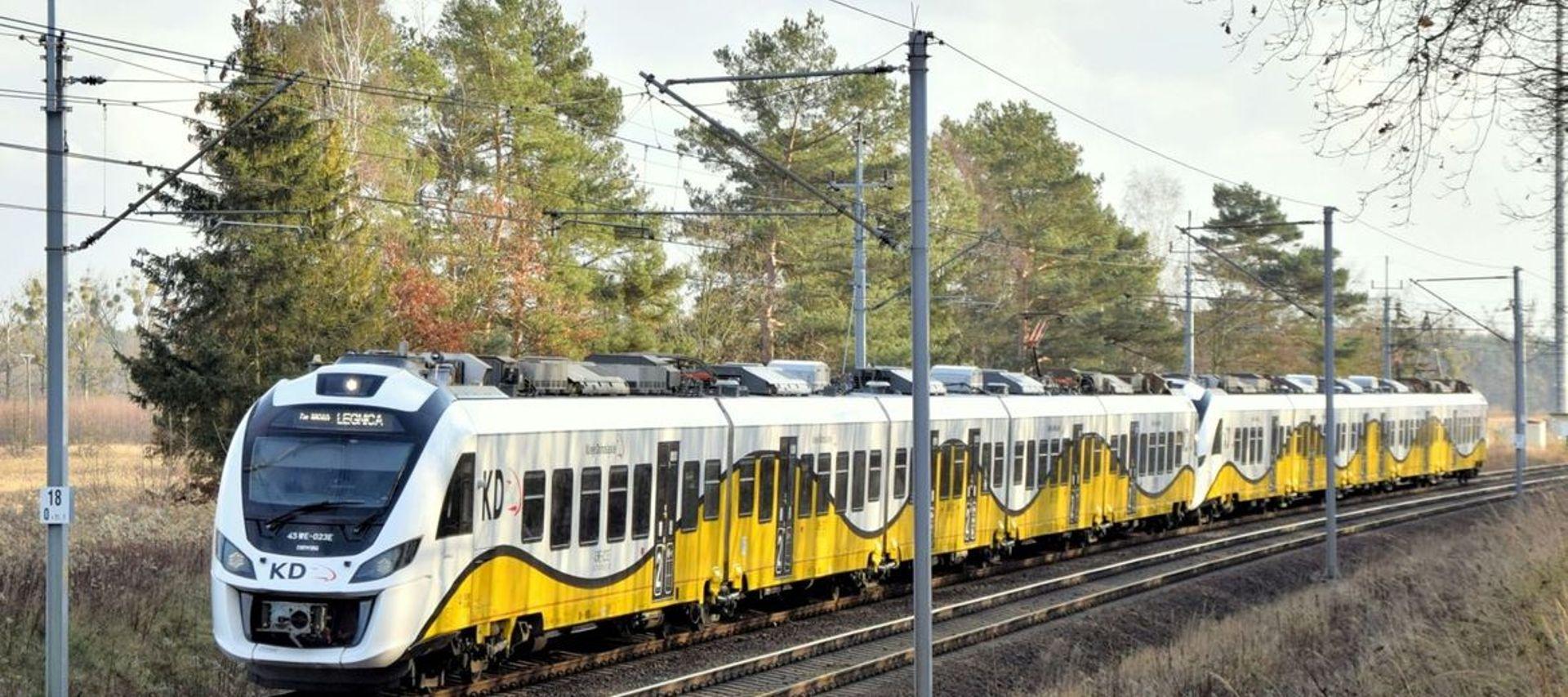 Dolny Śląsk: Koleje Dolnośląskie przywracają zawieszone pociągi międzynarodowe