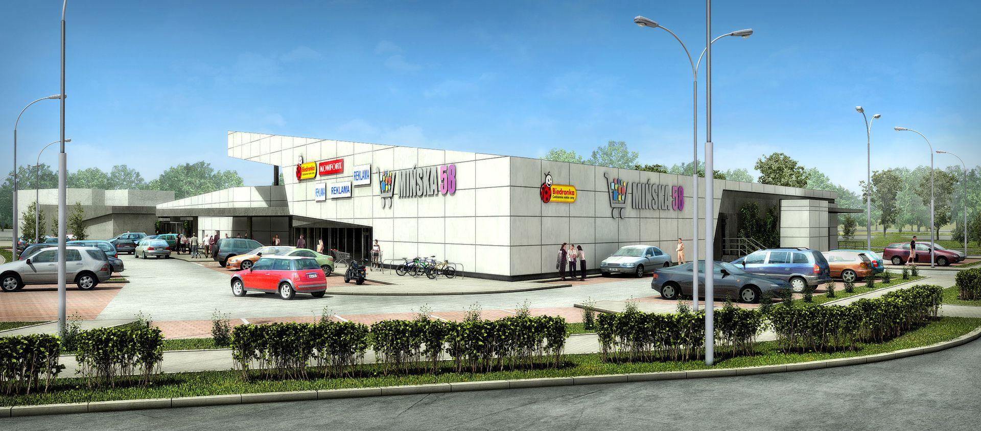 Wrocław: Centrum handlowe Mińska 58 coraz bliżej otwarcia